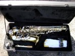 Alto Saxophone Gold with Nickel keys