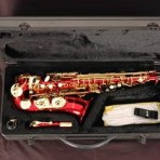 Alto Saxophone Ruby Red